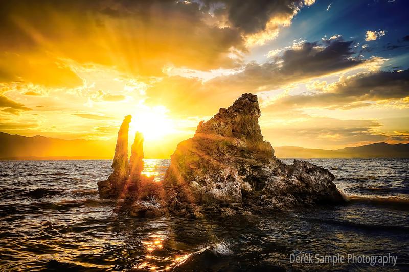 A Rock on a Lake