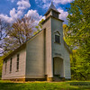 Palmer Chapel in Cataloochee