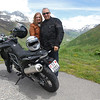 Catarina e Americo no Furka Pass