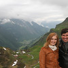 Catarina e Bruno no Furka Pass