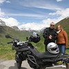 Americo e Catarina no Furka Pass