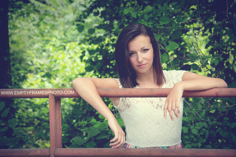 Tar River Senior Portrait