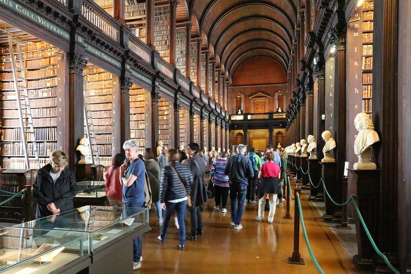 Interior do Trinity College