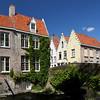 Detalhes de Arquitetônicos de Bruges