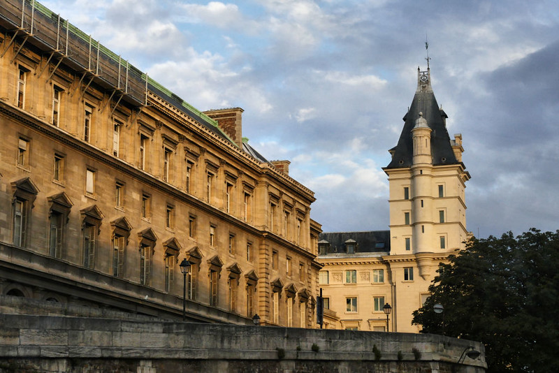 Detalhes Arquitetônicos de Paris