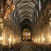 Interior da Catedral de Estrasburgo
