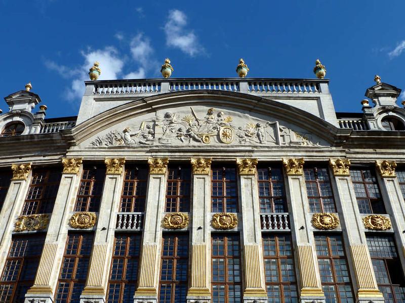 Detalhes Arquitetônicos de Bruxelas