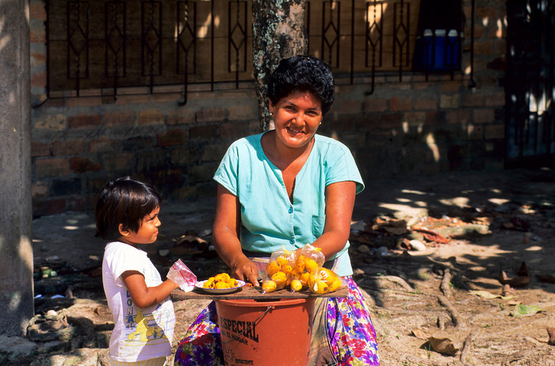 "<p><font size=""4"" face=""Trajan Pro""> Vendedora de aguajina - Iquitos</font></p>"