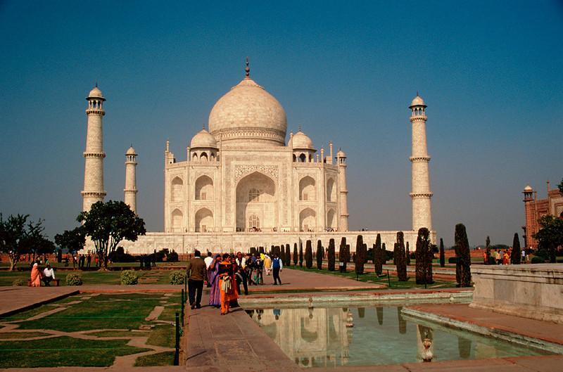"""<p><font size=""""4"""" face=""""Trajan Pro""""> Taj Mahal - Agra</font></p>"""