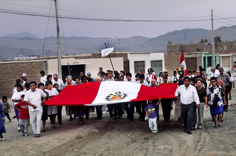 """<p><font size=""""4"""" face=""""Trajan Pro""""> Paseo de la Bandera de la Nación Peruana- Las Salinas-Chilca</font></p>"""