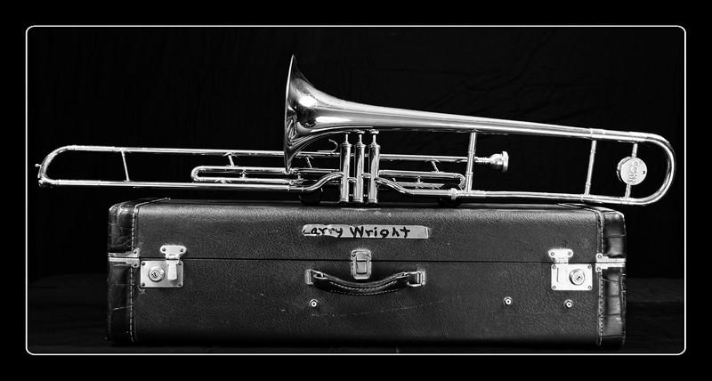 Larry Wright's Trombone