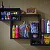 The art supplies that my Daughter-in-law keeps on the wall for our Grandsons. Art supplies as Art.
