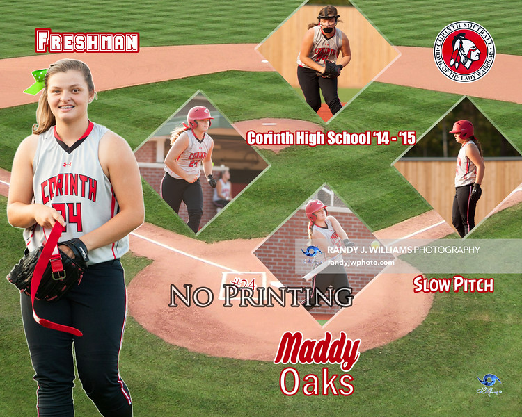 Slow Pitch Posters