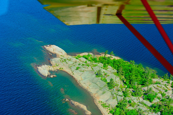 Heading for landing