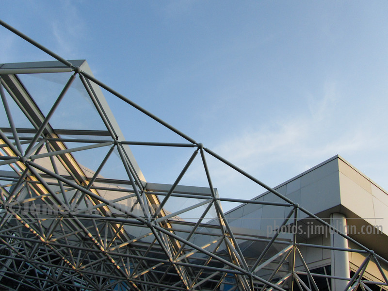 Triangulated Truss Roof 2