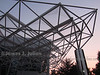 Triangulated Truss Roof in the Evening 3