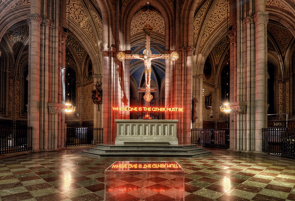 The Neon Crucifix