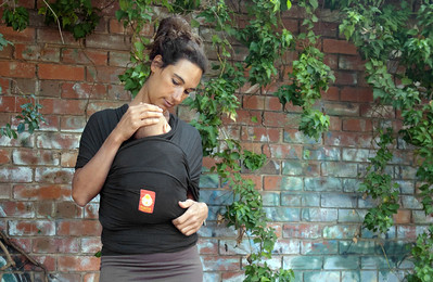 Wrap Baby Carrier (Charcoal)