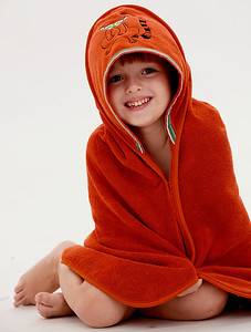 Bath/Beach Hooded Towel
