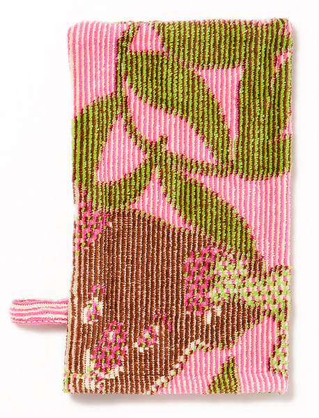 Breganwood Organics - Jacquard Collection Bath Mitt Design: Koala - Pink Organic Cotton - OE-100 13cm x 18cm SRP INC GST - Was $21.90 - NOW $11.00