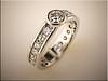14K white gold diamond remount bead set by Tim Frank