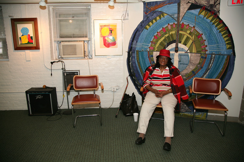 """Mildred Jones takes advantage of the hospitality of Sarah's Circle, a senior citizens center, one of the ministries of the Church of the Savior. <br /> <br /> For more info see  <a href=""""http://www.sarahscircle.org"""">http://www.sarahscircle.org</a>"""