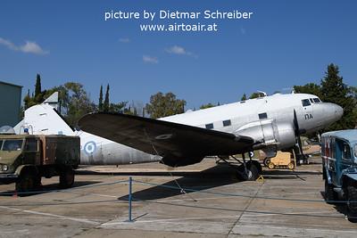 2021-09-04 KJ960 Douglas DC3 Hellenic AIr Force