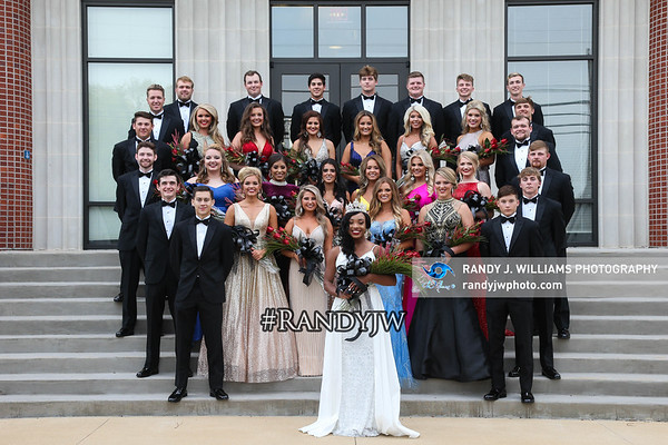 Northeast's Homecoming Court Photos