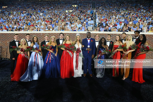 Ole Miss Homecoming Court 2019