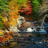 Waterfalls and autumn colors