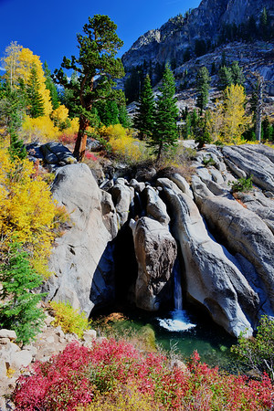 Waterfall on Sonora Pass