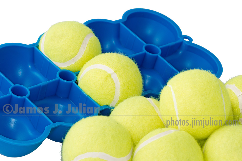 The Back King Flipped with Tennis Balls