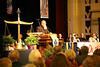 Archbishop Elias Chacour preaches to the Ecumenical Worship Service