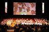 Former Moderator Joan Gray preaches at Opening Worship