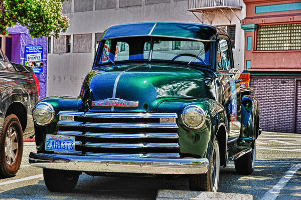 Funky Car in California