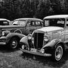 Cars Cars Cars - B&W