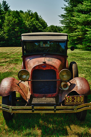 Old Vermont Car