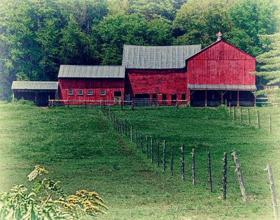 Red Barn old fashion