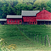 Red Barn old fashion