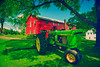 Farm on Lyman Road - antique