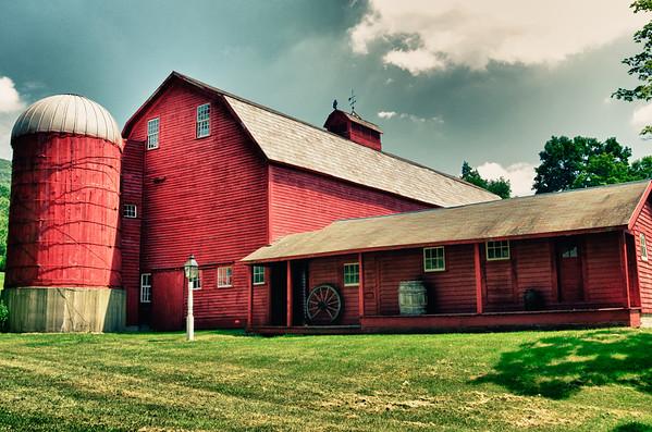 Antiqued old Barn