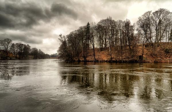 An Overcast Stream