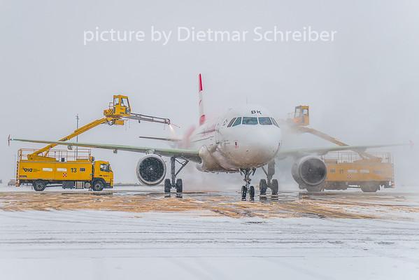 2019-01-28 OE-LBK Airbus A320 Austrian Airlines