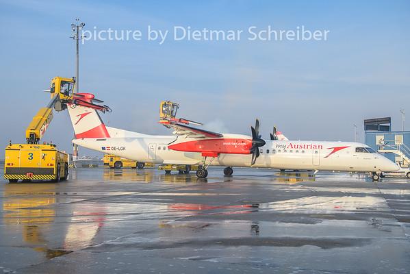 2019-02-18 OE-LGK Dash 8-400 Austrian Airlines