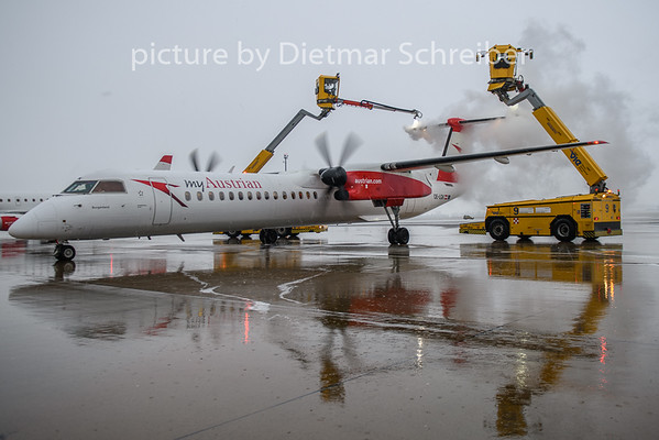 2019-01-08 OE-LGK Dash 8-400 Austrian Airlines