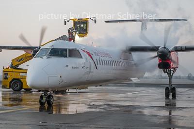 2019-02-07 OE-LGK Dash 8-400 Austrian Airlines