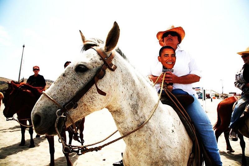 obama rides
