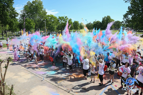 Reconnect 4 Autism Color Run 2019
