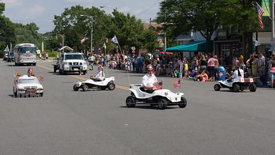 Crazy Small Cars on Parade 1