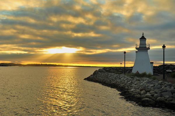 Sunrise in Nova Scotia